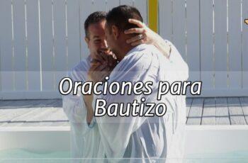 Oraciones para Bautizo