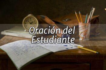 Oración del Estudiante