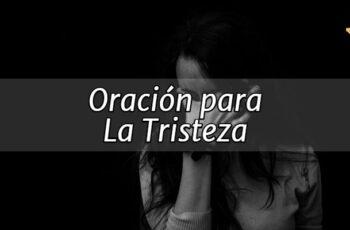 Oración Para La Tristeza